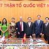 Chủ tịch Trần Thanh Mẫn tiếp Đoàn đại biểu cấp cao Đảng Lao động Mexico