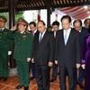 Lãnh đạo Đảng, Nhà nước, MTTQ Việt Nam dâng hương tưởng niệm Đại tướng Lê Đức Anh