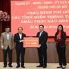 Hà Nội trao tặng 91 tỷ đồng hỗ trợ đồng bào miền Trung, Tây Nguyên