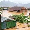 Chủ tịch Trần Thanh Mẫn gửi điện thăm hỏi các tỉnh miền Trung, Tây Nguyên bị thiệt hại do lũ lụt gây ra