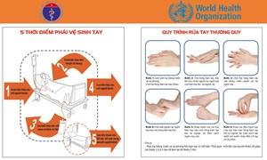 5 thời điểm phải vệ sinh và quy trình rửa tay thường quy