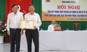 Hội nghị tổng kết phong trào thi đua xây dựng và bảo vệ Tổ quốc trong đồng bào Công giáo tỉnh Ninh Thuận, giai đoạn 2015-2020