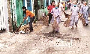 Chung tay vì môi trường sạch đẹp