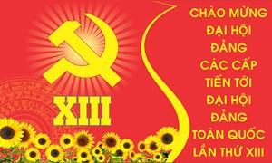 Hướng dẫn việc công bố, thảo luận, lấy ý kiến của Nhân dân vào dự thảo các văn kiện trình Đại hội đại biểu toàn quốc lần thứ XIII của Đảng