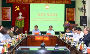 MTTQ tỉnh Tuyên Quang phản biện xã hội đối với dự thảo nghị quyết của HĐND tỉnh