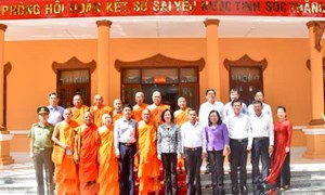 Hội Đoàn kết sư sãi yêu nước tỉnh Sóc Trăng góp phần củng cố khối đại đoàn kết