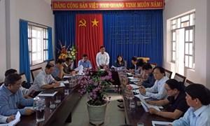 MTTQ Việt Nam tỉnh Ninh Thuận kiểm tra công tác phòng, chống dịch Covid-19