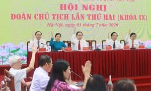 Bế mạc Hội nghị Đoàn Chủ tịch UBTƯ MTTQ Việt Nam lần thứ hai, khoá IX