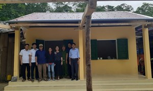 Quảng Bình: Hỗ trợ 850 triệu đồng xây 10 nhà Đại đoàn kết ở bản Xà Khía