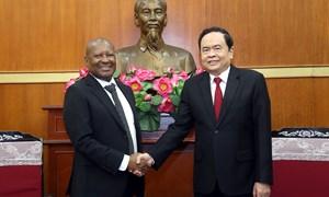 MTTQ Việt Nam sẵn sàng chia sẻ kinh nghiệm với các tổ chức tương đồng của Nam Phi