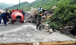 Hà Giang: Tổ chức 17 đợt giám sát các công trình đầu tư tại cơ sở