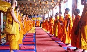Đồng bào Khmer phấn khởi đón mừng lễ Sene Dolta