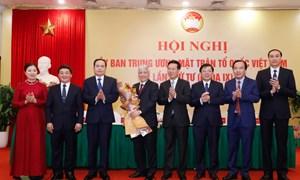 Ông Đỗ Văn Chiến giữ chức Chủ tịch UBTƯ MTTQ Việt Nam