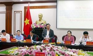 Phó Chủ tịch Quốc hội Nguyễn Khắc Định kiểm tra công tác chuẩn bị bầu cử tại Hà Nam