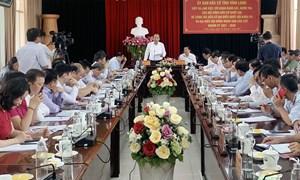 Phó Thủ tướng Thường trực Chính phủ Trương Hòa Bình giám sát công tác chuẩn bị bầu cử tại Vĩnh Long
