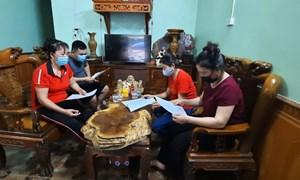 Huyện Chiêm Hóa: xã Phúc Thịnh phát huy tốt vai trò của Tổ Covid cộng đồng trong phòng, chống dịch