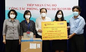 Thành phố Hồ Chí Minh tiếp nhận hơn 4 triệu bộ kit xét nghiệm Covid-19