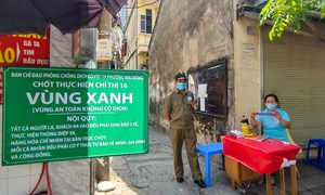 """Hà Nội: Tiếp tục củng cố các """"pháo đài"""" chống dịch ở cơ sở"""