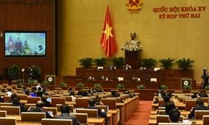 Quốc hội thảo luận trực tuyến về dự án Luật Cảnh sát cơ động: Bảo đảm chặt chẽ, thống nhất với hệ thống pháp luật