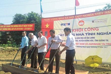 """Mặt trận Tổ quốc tỉnh Quảng Trị thực hiện phong trào """"Đền ơn đáp nghĩa"""""""