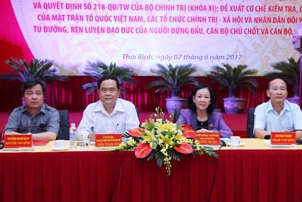 Triển khai Quyết định 217, 218 của Bộ Chính trị cần đi theo thực tâm và thực chất