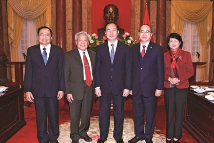 Quan hệ giữa MTTQ Việt Nam và các cơ quan Nhà nước trong thực hiện nhiệm vụ giám sát của Mặt trận