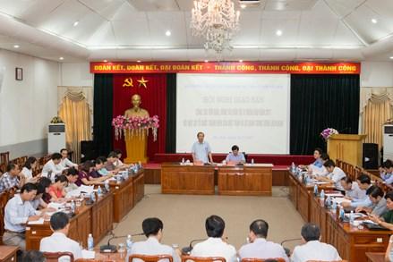 Tăng cường phối hợp và trao đổi thông tin trong công tác dân tộc, tôn giáo