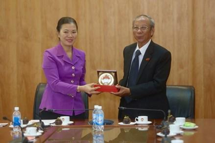 Phó Chủ tịch Trương Thị Ngọc Ánh tiếp Hội đồng Tinh thần Tôn giáo Baha'i Việt Nam