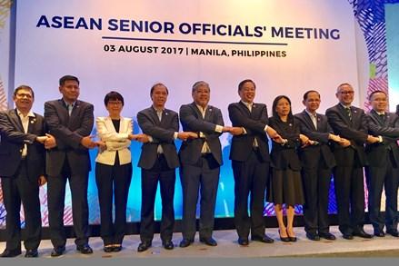 Kết thúc phiên họp trù bị cho Hội nghị Bộ trưởng Ngoại giao ASEAN lần thứ 50