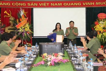 Thượng tá Nguyễn Thúy Quỳnh làm Phó Tổng Biên tập Báo Công an nhân dân