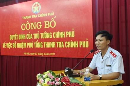 Công bố quyết định bổ nhiệm Phó Tổng Thanh tra Chính phủ Bùi Ngọc Lam