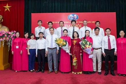Đại hội Chi bộ Ban Tổ chức - Cán bộ Cơ quan UBTƯ MTTQ Việt Nam