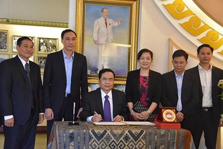 Nơi hội tụ sức mạnh đoàn kết của người Việt Nam tại Lào