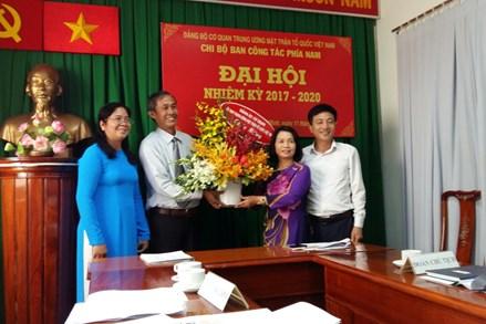 Đại hội Chi bộ Ban Công tác phía Nam Cơ quan UBTƯ MTTQ Việt Nam