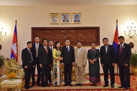 Đẩy nhanh tiến độ hoàn thành phân giới, cắm mốc biên giới Việt Nam - Campuchia