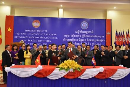 Thông cáo chung Hội nghị quốc tế về biên giới Việt Nam - Campuchia