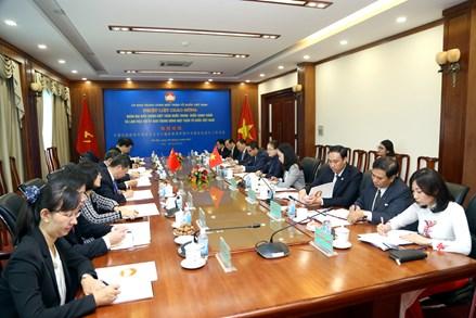 Trao đổi kinh nghiệm giữa UBTƯ MTTQ Việt Nam và Chính hiệp toàn quốc Trung Quốc