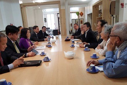 """""""Cầu nối"""" gắn kết tình hữu nghị Việt - Pháp"""