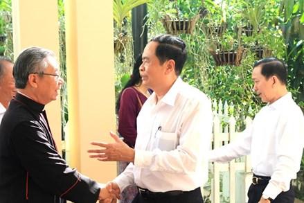 Luật Tín ngưỡng, Tôn giáo và trách nhiệm của Mặt trận Tổ quốc Việt Nam