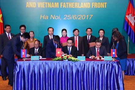 Mặt trận Việt Nam - Lào - Campuchia nơi gắn kết tình hữu nghị, đoàn kết giữa ba dân tộc