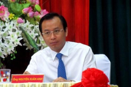 Tuyên bố hùng hồn của ông Nguyễn Xuân Anh đã không đi đôi với hành động