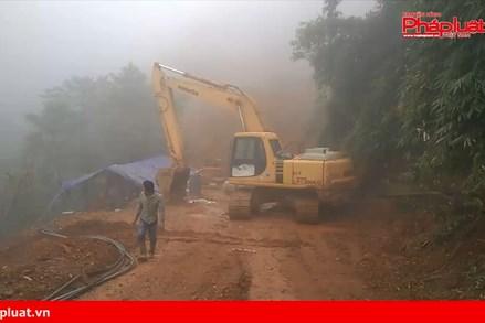 Buông lỏng quản lý trong khai thác khoáng sản tại Hòa Bình
