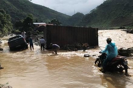 Con số thiệt hại sau trận mưa lũ lịch sử