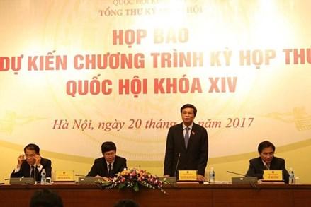 Tổng Thư ký Quốc hội: Đang xem xét quy trình với đại biểu Phan Thị Mỹ Thanh
