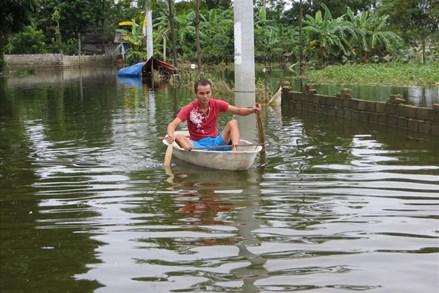 Nhiều gia đình ở Chương Mỹ trắng tay sau trận mưa lũ lịch sử