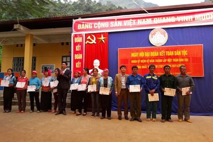 Ngày hội Đại đoàn kết huyện Mường Ảng, tỉnh Điện Biên