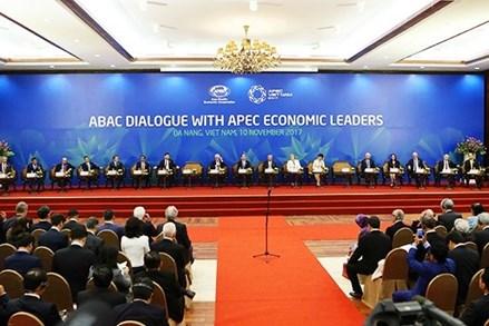 Đối thoại giữa các nhà lãnh đạo kinh tế APEC với Hội đồng Tư vấn doanh nghiệp APEC (ABAC)  