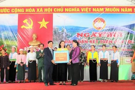 Chủ tịch Quốc hội dự Ngày hội Đại đoàn kết toàn dân tộc