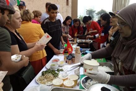 Việt Nam tham dự hội chợ văn hóa, ẩm thực châu Á tại Ai Cập