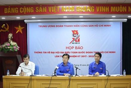 Họp báo giới thiệu về Đại hội đại biểu toàn quốc Đoàn TNCS Hồ Chí Minh lần thứ XI